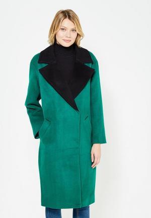 Пальто TrendyAngel. Цвет: зеленый