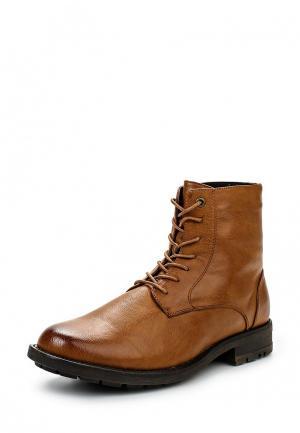 Ботинки G-L-X. Цвет: коричневый