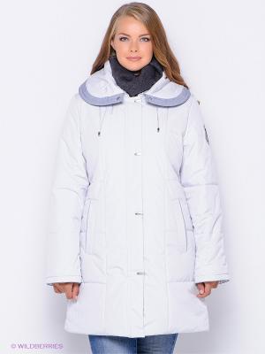 Куртка ICE Maritta. Цвет: белый