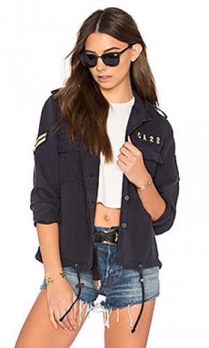 Куртка maverick Rails. Цвет: синий