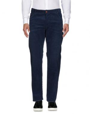 Повседневные брюки VINTAGE 55. Цвет: темно-синий