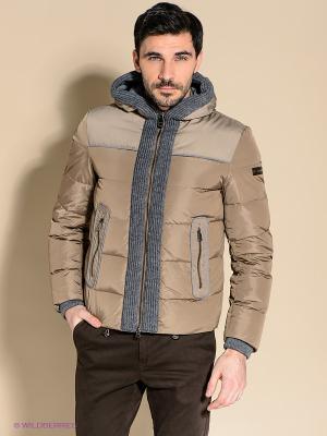 Куртка 18CRR81 CERRUTI. Цвет: темно-бежевый