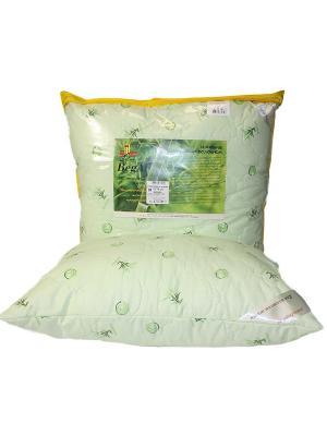 Подушка стеганая 70*70 Бамбук BegAl. Цвет: салатовый