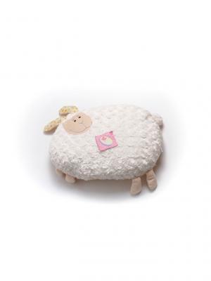 Мягкая игрушка Плюшка Зайчик Malvina. Цвет: молочный