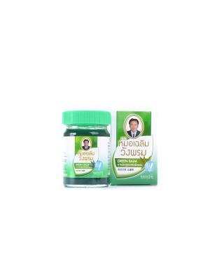 Фитобальзам для тела зеленый от воспаления и защемления нервов, TM WangProm, 50 гр. WangProm. Цвет: зеленый