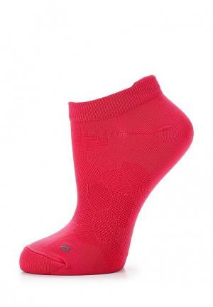 Носки ASICS. Цвет: розовый