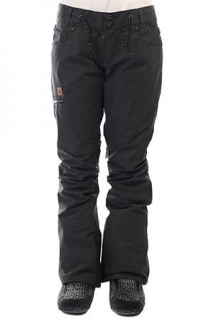 Штаны сноубордические женские DC Viva Pant Black Shoes. Цвет: темно-серый