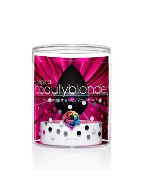 ССпонж beautyblender pro и мыло для очистки solid blendercleanser 30 мл. Цвет: черный
