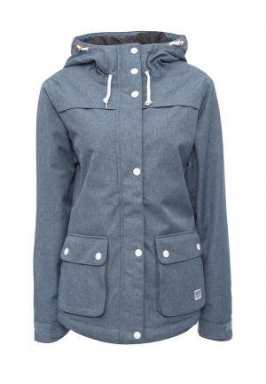 Куртка горнолыжная CLWR. Цвет: голубой