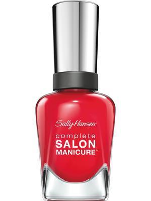 Лак для ногтей тон all fired up  55 14,7 мл SALLY HANSEN. Цвет: красный