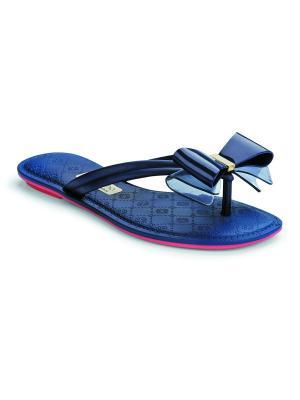Пантолеты Grendha. Цвет: синий