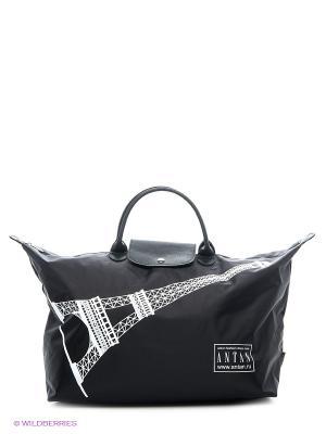 Сумка ANTAN. Цвет: черный