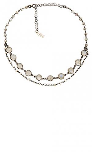 Чокер sorella Natalie B Jewelry. Цвет: металлический серебряный