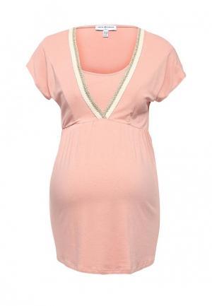 Блуза Envie de Fraise. Цвет: розовый