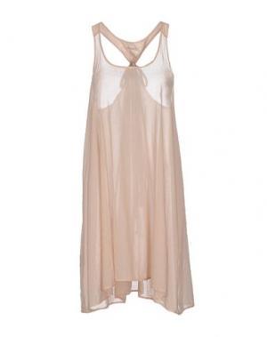 Короткое платье ALMERIA. Цвет: светло-розовый