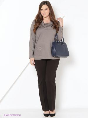 Блуза BALSAKO. Цвет: серый