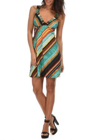 Платье Aller Simplement. Цвет: мультицвет