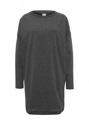 Платье Bench. Цвет: серый
