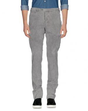 Повседневные брюки PIATTO. Цвет: светло-серый