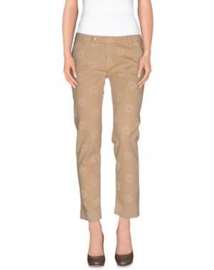 Повседневные брюки TRUE NYC.. Цвет: песочный