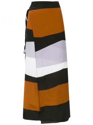 Пляжная юбка Pareo Haight. Цвет: многоцветный