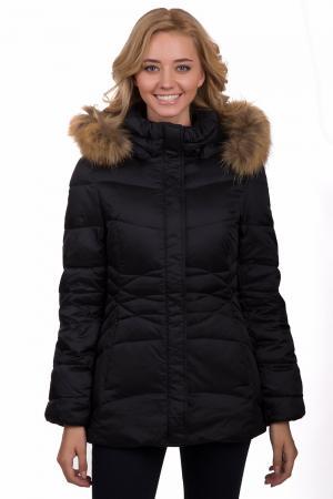 Куртка Pezzo. Цвет: чёрный