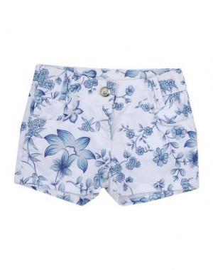 Повседневные шорты EDDIE PEN. Цвет: белый