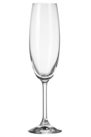 Бокал для шампанского, 6 шт KROSNO. Цвет: мультицвет