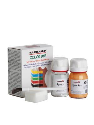 Краситель+очиститель COLOR DYE, стекло TDC01, 2х25мл. (МЕДНЫЙ металлик) Tarrago. Цвет: золотистый