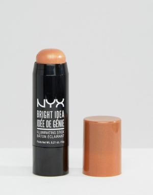 NYX Professional Makeup Карандаш Bright Idea. Цвет: бежевый