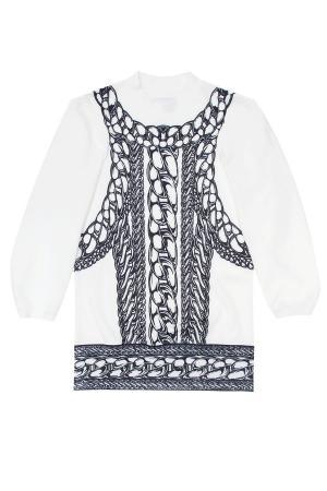 Платье KYE. Цвет: белый