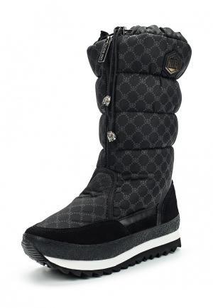 Дутики King Boots. Цвет: черный