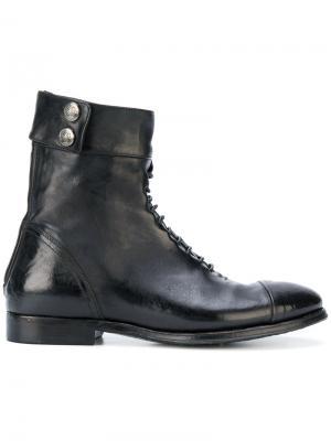 Ботинки по щиколотку Alberto Fasciani. Цвет: чёрный