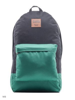 Рюкзак Gaib. Цвет: черный, зеленый