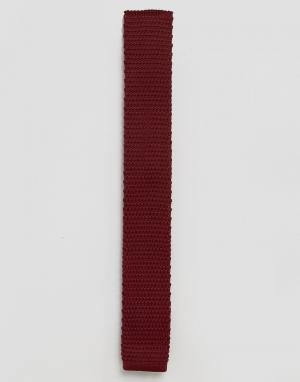 Feraud Бордовый вязаный галстук. Цвет: красный