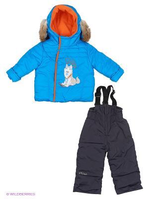 Комплект одежды BOOM. Цвет: голубой