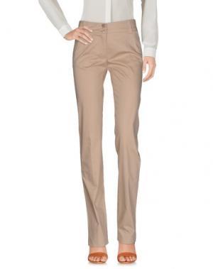 Повседневные брюки CLIÓ. Цвет: песочный