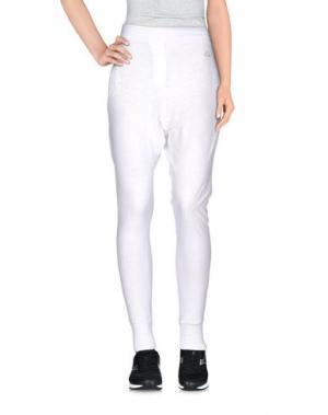 Повседневные брюки EMPATHIE. Цвет: белый