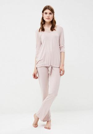 Пижама NYMOS. Цвет: розовый
