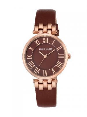 Часы ANNE KLEIN. Цвет: коричневый, красный