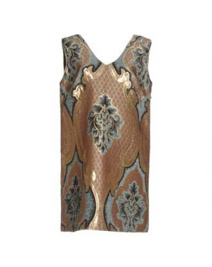 Короткое платье EYEDOLL. Цвет: хаки