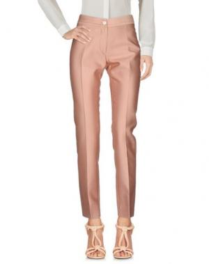 Повседневные брюки KITON. Цвет: розовый