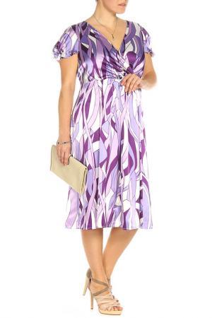 Платье Natura. Цвет: сиреневый