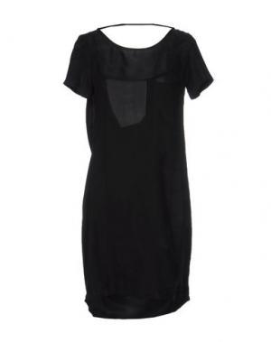 Короткое платье SECOND FEMALE. Цвет: стальной серый