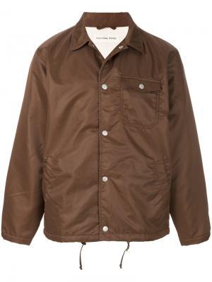 Непромокаемая куртка Coach Universal Works. Цвет: коричневый