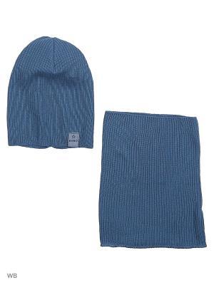 Шапка Agbo. Цвет: серо-голубой