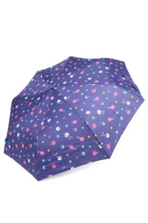 Зонт Bisetti. Цвет: синий