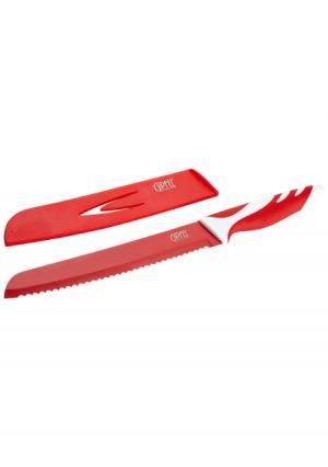 Нож хлебный Rainbow Gipfel. Цвет: красный, черный