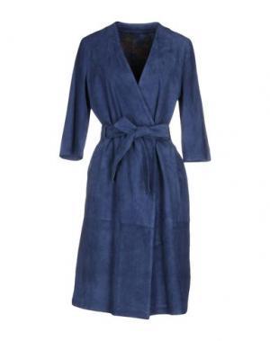 Легкое пальто OLIVIERI. Цвет: синий