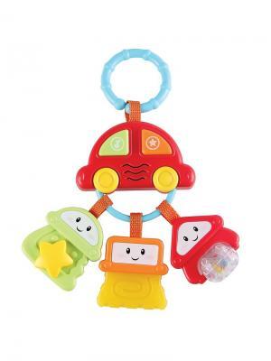 Брелок с ключами Happy Baby. Цвет: голубой, зеленый, красный